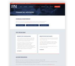 Private Portfolio Managers Wordpress Website