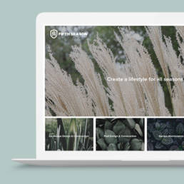 Fifth Season Landscaping Website Design