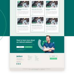 Janison Education Wordpress Website