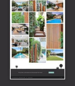 Fifth Season Landscape Website Design