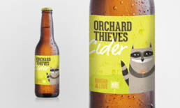 Orchard Thieves Cider Packaging Design