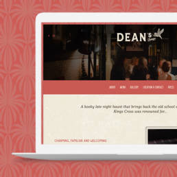 Deans Lounge Sydney Design